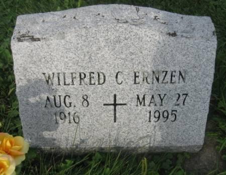 ERNZEN, WILFRED C. - Dubuque County, Iowa   WILFRED C. ERNZEN