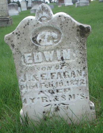 FAGAN, EDWIN - Dubuque County, Iowa   EDWIN FAGAN
