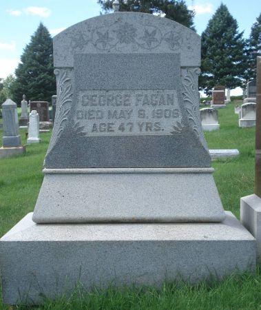 FAGAN, GEORGE - Dubuque County, Iowa   GEORGE FAGAN