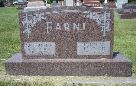 FARNI, GERTRUDE B. - Dubuque County, Iowa | GERTRUDE B. FARNI
