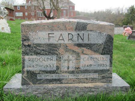 FARNI, RUDOLPH - Dubuque County, Iowa   RUDOLPH FARNI