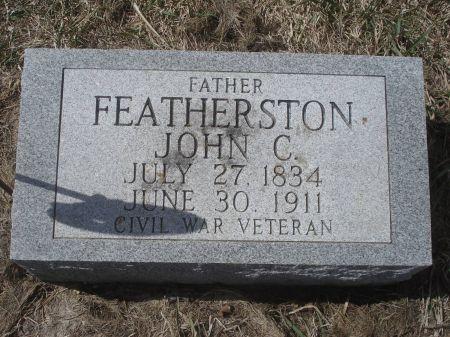 FEATHERSTON, JOHN C. - Dubuque County, Iowa | JOHN C. FEATHERSTON