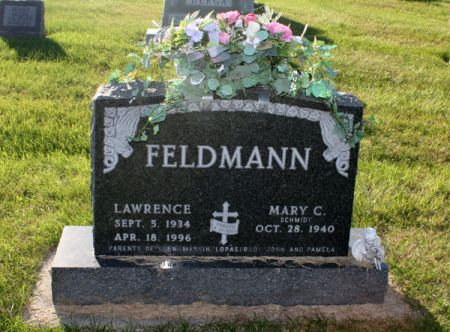 FELDMANN, LAWRENCE J. - Dubuque County, Iowa | LAWRENCE J. FELDMANN