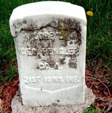 FENGLER, GEORGE A. - Dubuque County, Iowa | GEORGE A. FENGLER
