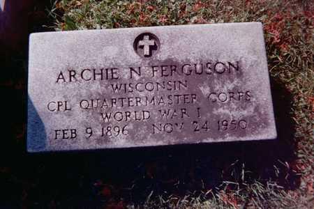 FERGUSON, ARCHIE N. - Dubuque County, Iowa | ARCHIE N. FERGUSON