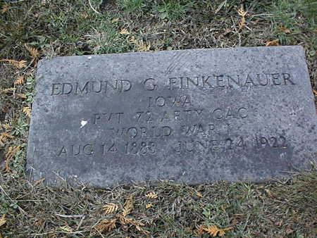 FINKENAUER, EDMUND G. - Dubuque County, Iowa | EDMUND G. FINKENAUER