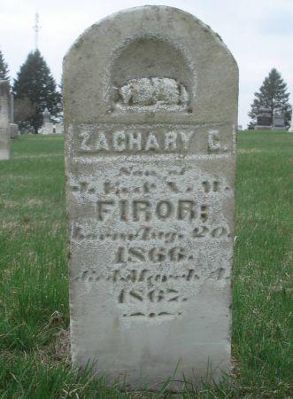 FIROR, ZACHARY G. - Dubuque County, Iowa | ZACHARY G. FIROR
