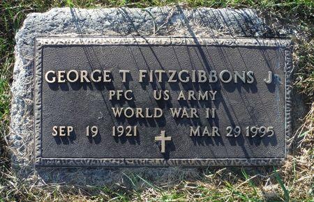 FITZGIBBONS JR., GEORGE T. - Dubuque County, Iowa | GEORGE T. FITZGIBBONS JR.