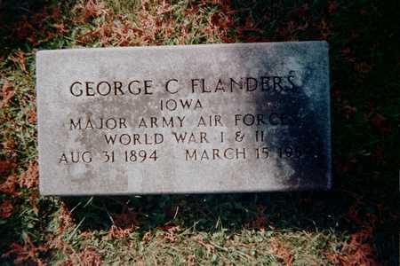 FLANDERS, GEORGE C. - Dubuque County, Iowa   GEORGE C. FLANDERS