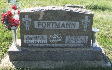 FELDMANN FORTMANN, ELIZABETH G. - Dubuque County, Iowa   ELIZABETH G. FELDMANN FORTMANN