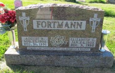 FORTMANN, AUGUST B. - Dubuque County, Iowa | AUGUST B. FORTMANN