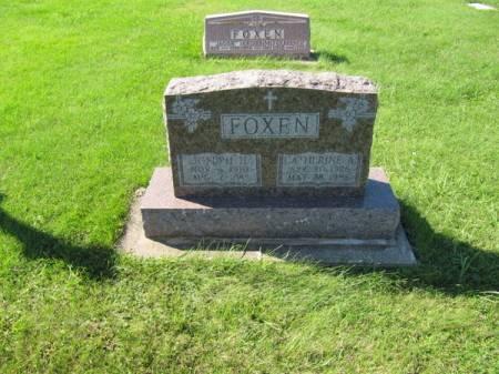 FOXEN, CATHERINE A. - Dubuque County, Iowa | CATHERINE A. FOXEN