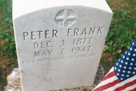 FRANK, PETER - Dubuque County, Iowa | PETER FRANK