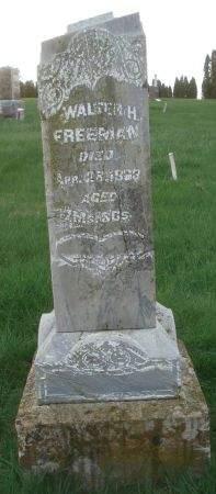 FREEMAN, WALTER H. - Dubuque County, Iowa | WALTER H. FREEMAN