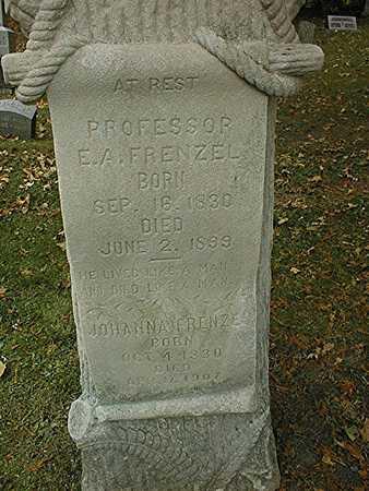 FRENZEL, PROFESSOR E.A. AND JOHANNA - Dubuque County, Iowa | PROFESSOR E.A. AND JOHANNA FRENZEL