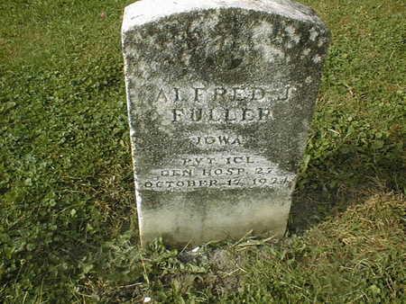 FULLER, ALFRED J. - Dubuque County, Iowa | ALFRED J. FULLER