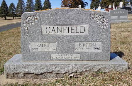 HAWKINS GANFIELD, BIRDENA - Dubuque County, Iowa | BIRDENA HAWKINS GANFIELD