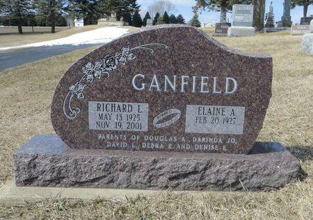 GANFIELD, RICHARD L. - Dubuque County, Iowa | RICHARD L. GANFIELD