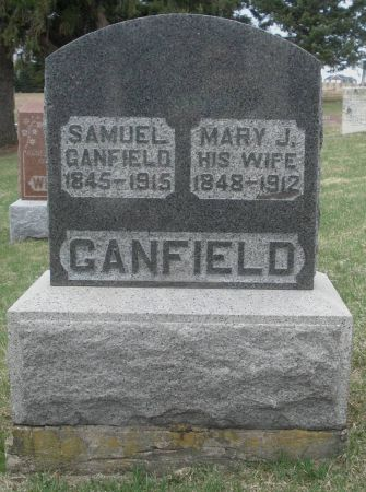 GANFIELD, MARY J. - Dubuque County, Iowa | MARY J. GANFIELD