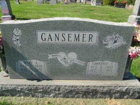 GANSEMER, MARY A. - Dubuque County, Iowa | MARY A. GANSEMER