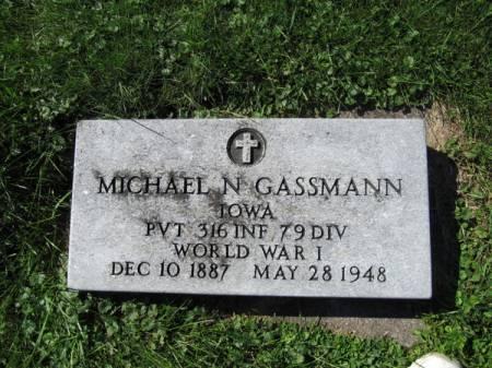 GASSMANN, MICHAEL N. - Dubuque County, Iowa | MICHAEL N. GASSMANN