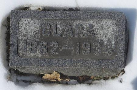 GEARHART, CLARA - Dubuque County, Iowa   CLARA GEARHART