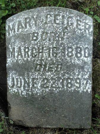GEIGER, MARY - Dubuque County, Iowa | MARY GEIGER