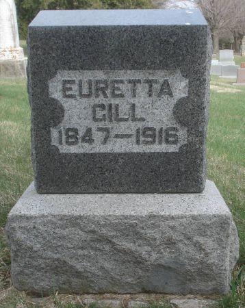 GILL, EURETTA - Dubuque County, Iowa | EURETTA GILL