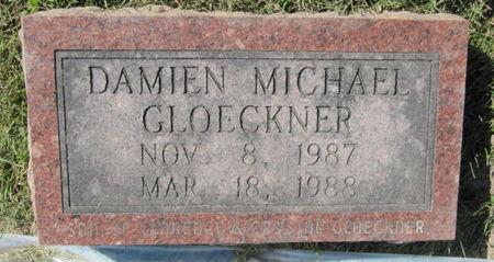 GLOECKNER, DAMIEN MICHAEL - Dubuque County, Iowa   DAMIEN MICHAEL GLOECKNER