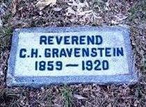 GRAVENSTEIN, CHRISTIAN HENRY - Dubuque County, Iowa | CHRISTIAN HENRY GRAVENSTEIN