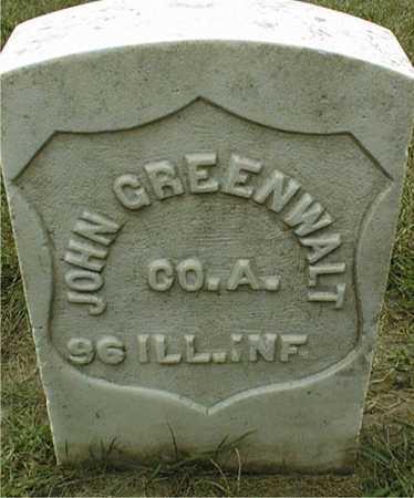 GREENWALT, JOHN - Dubuque County, Iowa | JOHN GREENWALT