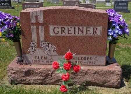 GREINER, CLEM J. - Dubuque County, Iowa | CLEM J. GREINER
