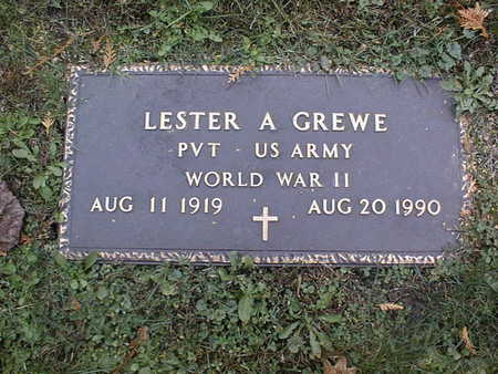 GREWE, LESTER A. - Dubuque County, Iowa | LESTER A. GREWE