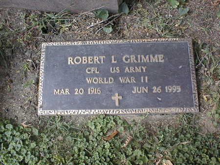 GRIMME, ROBERT L. - Dubuque County, Iowa | ROBERT L. GRIMME