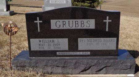 GRUBBS, WILLIAM L. - Dubuque County, Iowa   WILLIAM L. GRUBBS