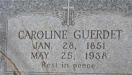 GUERDET, CAROLINE - Dubuque County, Iowa | CAROLINE GUERDET