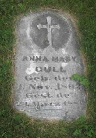 GULL, ANNA MARY - Dubuque County, Iowa | ANNA MARY GULL