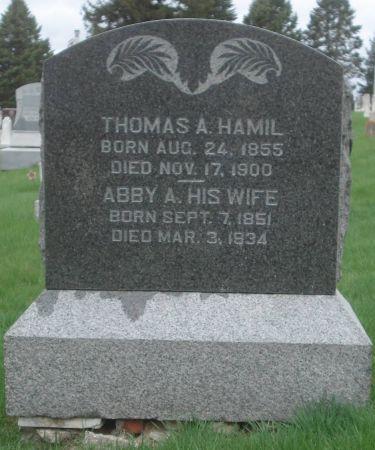 HAMIL, THOMAS A. - Dubuque County, Iowa | THOMAS A. HAMIL