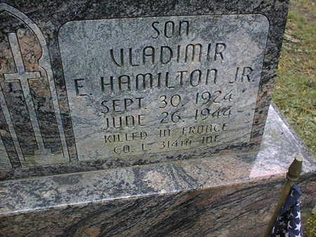 HAMILTON, VLADIMIR E., JR. - Dubuque County, Iowa   VLADIMIR E., JR. HAMILTON