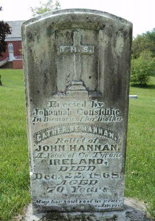 HANNAN, CATHERINE - Dubuque County, Iowa | CATHERINE HANNAN
