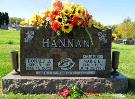 HANNAN, DONALD J. - Dubuque County, Iowa | DONALD J. HANNAN