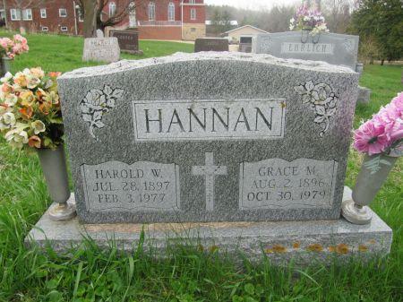HANNAN, GRACE M - Dubuque County, Iowa | GRACE M HANNAN
