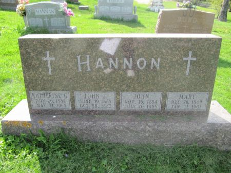 HANNAN, JOHN - Dubuque County, Iowa | JOHN HANNAN