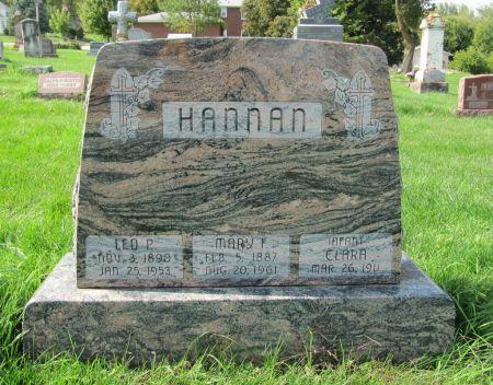 HANNAN, LEO P. - Dubuque County, Iowa | LEO P. HANNAN