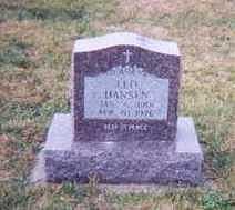 HANSEN, LEO - Dubuque County, Iowa   LEO HANSEN