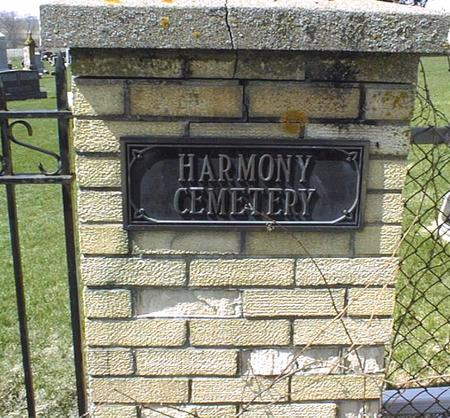 HARMONY UNITED CHURCH OF CHRIST, CEMETERY - Dubuque County, Iowa   CEMETERY HARMONY UNITED CHURCH OF CHRIST