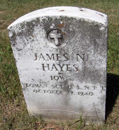 HAYES, JAMES N. - Dubuque County, Iowa | JAMES N. HAYES