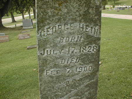 HEIN, GEORGE - Dubuque County, Iowa | GEORGE HEIN