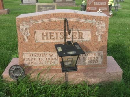 HEISLER, AUGUST W. - Dubuque County, Iowa | AUGUST W. HEISLER
