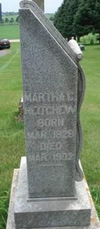 HEITCHEW, MARTHA C. - Dubuque County, Iowa   MARTHA C. HEITCHEW